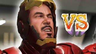 IRON MAN PC vs IRON MAN PS3/X360