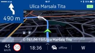 nokia here maps offline navigation for ios