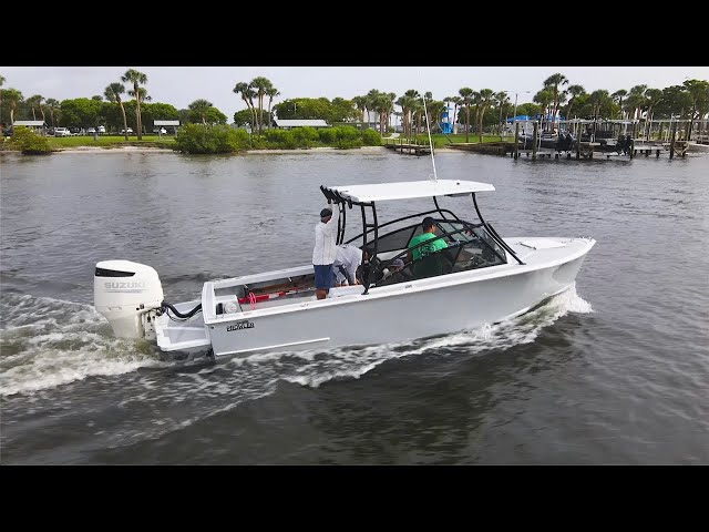 Florida Sportsman Project Dreamboat [2021] Custom Forest Johnson Prowler, Outboard Fuel Filter Tips