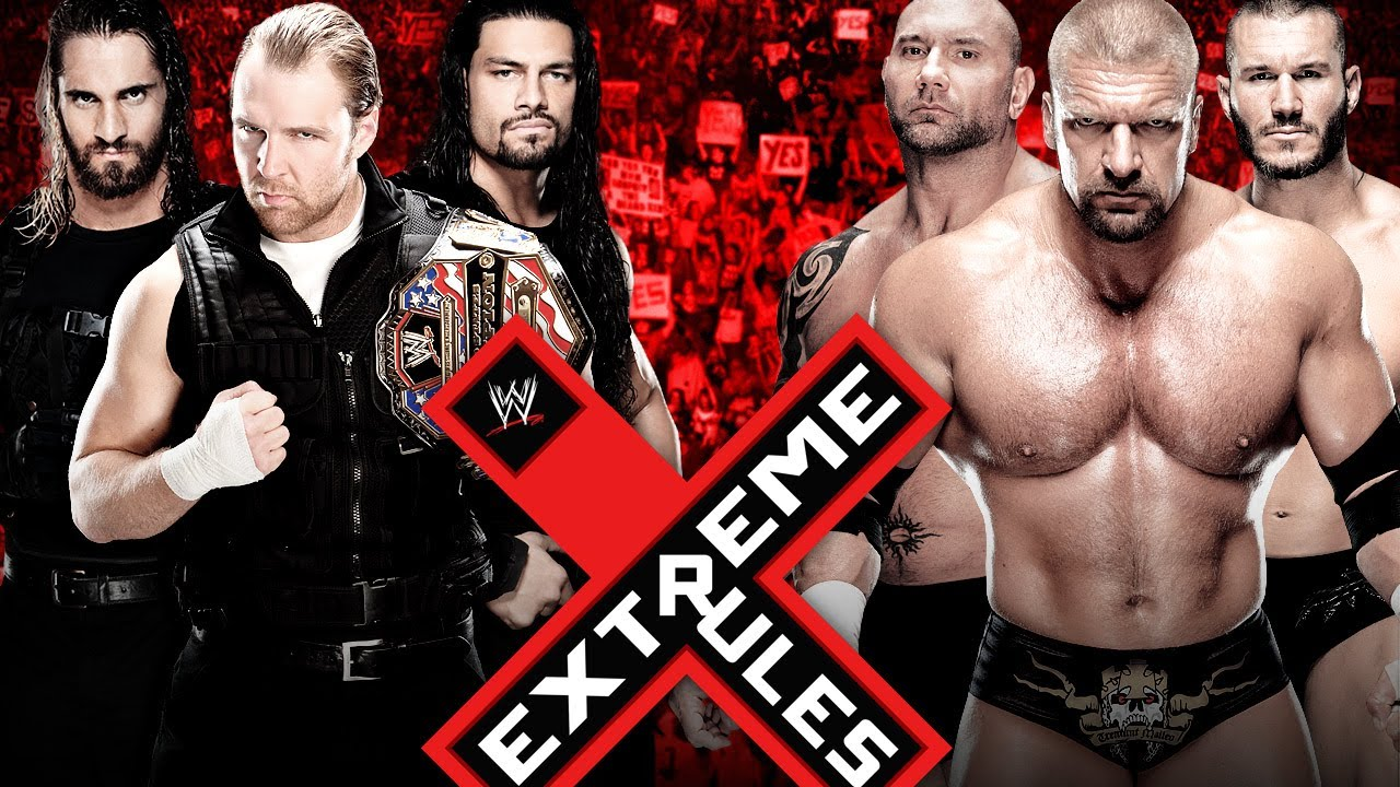 Evolution extreme rules wwe 2k14 simluation youtube