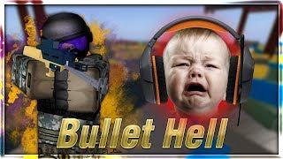 Kid Plays Roblox 🔥😱 - Kidding Plays Roblox Bullet Hell #1
