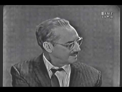 What's My Line: Groucho Steals the
