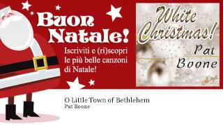 Pat Boone - O Little Town of Bethlehem