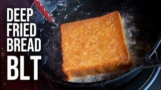 Extreme BLT Deep Fried Sandwich