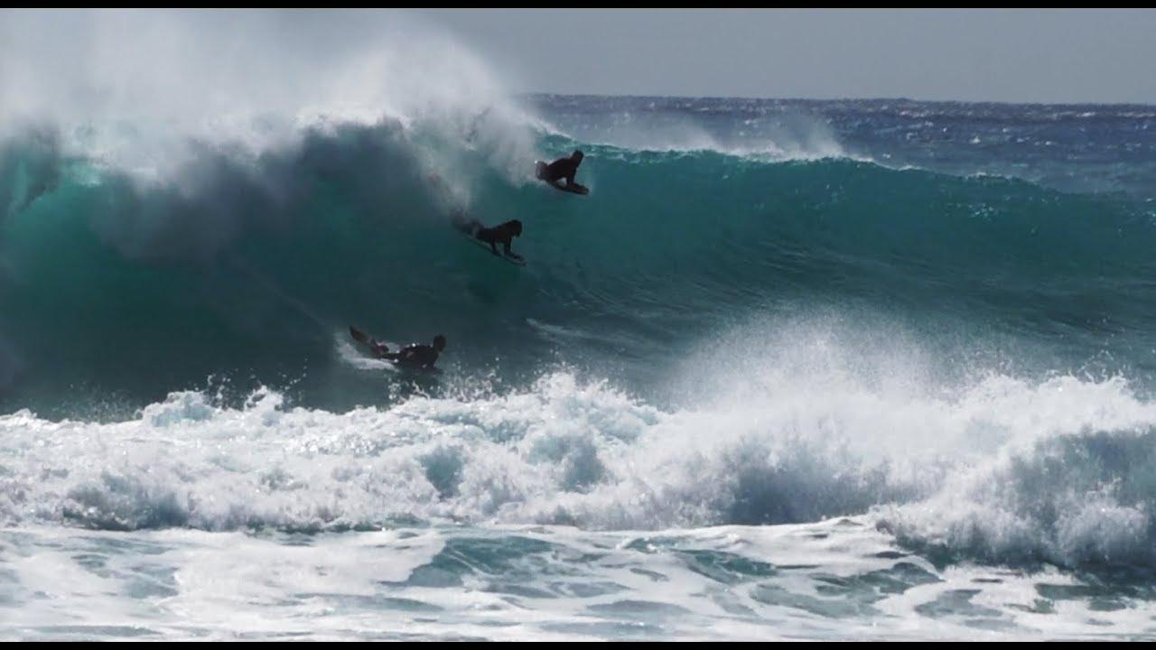 Sandy Beach Storm Surf Bodyboard