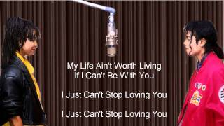 I Just Can't Stop Loving You Karaoke sing as Michael Jackson