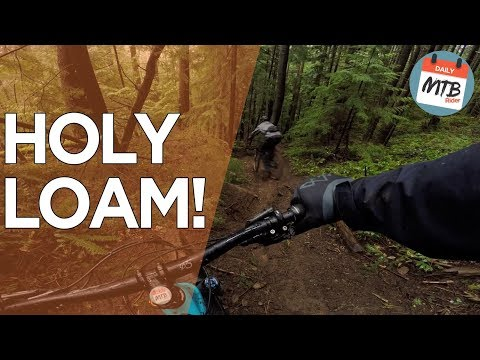 Following A 16-Year-Old Down A Scary Steep, Technical, & Loamy Mountain Bike Trail!