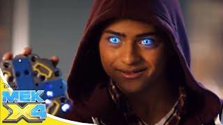 Мек-X4 Сезон 1 серия 08 - Сокрушим главного злодея! | Молодёжный сериал Disney