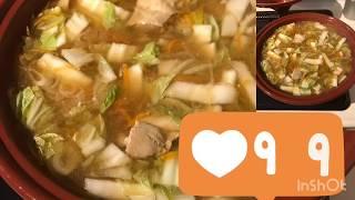 🥘Японский суп. 🇯🇵НАБЕ鍋(^ν^)✅Готовим легко и просто(*☻-☻*)Семья в японской деревне