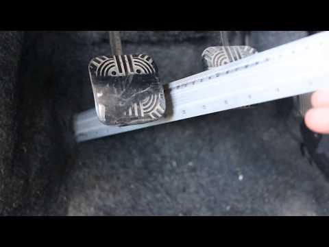 Регулировка сцепления ваз 2109. Как отрегулировать педаль сцепления ваз 2109.