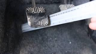 видео регулировка сцепления ваз 2114
