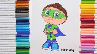 Coloring Super Why