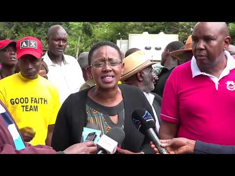 RUTO WARNED NOT TO PLAY POLITICS IN MURANG'A!WOMAN REP SAYS RUTO SHOULD PLAY POLITICS IN SUGOI!