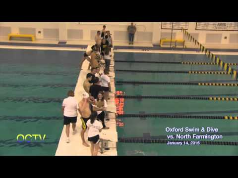 Oxford Swim & Dive vs.  Farmington: 1-14-16
