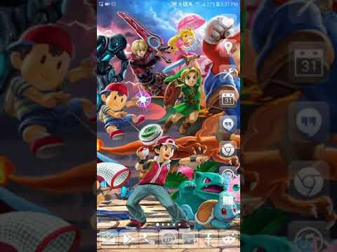 Super Smash Bros. Ultimate scrolling