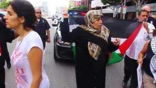 Israeli Confrantation at the Israeli Consulate pt 2 Aug 2, 2014