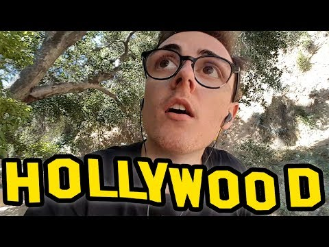 A PIEDI FINO AL CARTELLO DI HOLLYWOOD!! - California Diaries #3