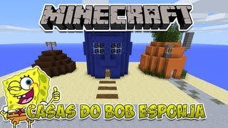 Minecraft: Construindo as casas do Bob Esponja thumbnail