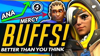 Overwatch | Why The Lucio / Ana Buffs Are Better Than You Think