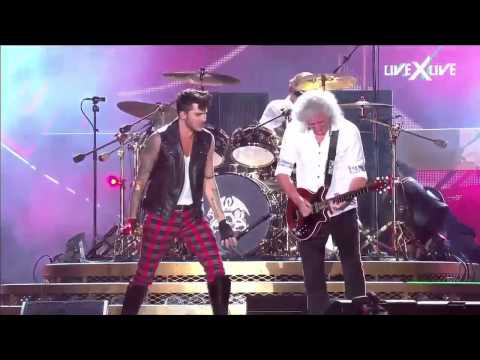 The Show Must Go On HD Rock In Rio Queen Adam Lambert