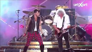 Queen + Adam Lambert headlined Rock in Rio Sept 18, 2015 HD The Sho...