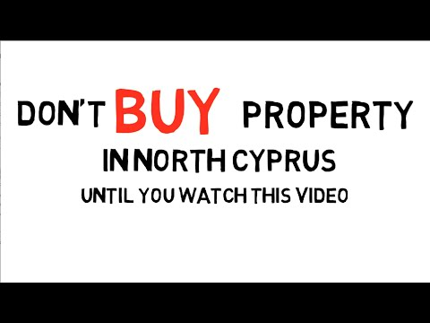 Don't buy property in North Cyprus until you watch this video