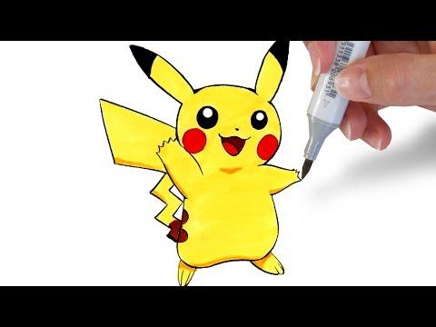 איך לצייר את פיקא'צו