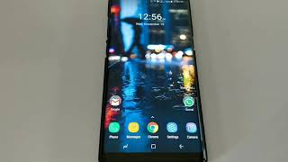 Systemwide Black theme and Pixel 2 Wallpaper For Samsung Galaxy Note 8 or Galaxy S8