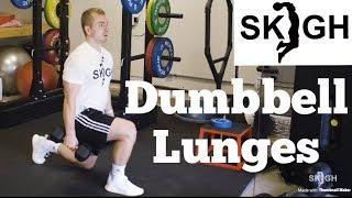 Dumbbell Lunge [SKIGH Training EP. 15]
