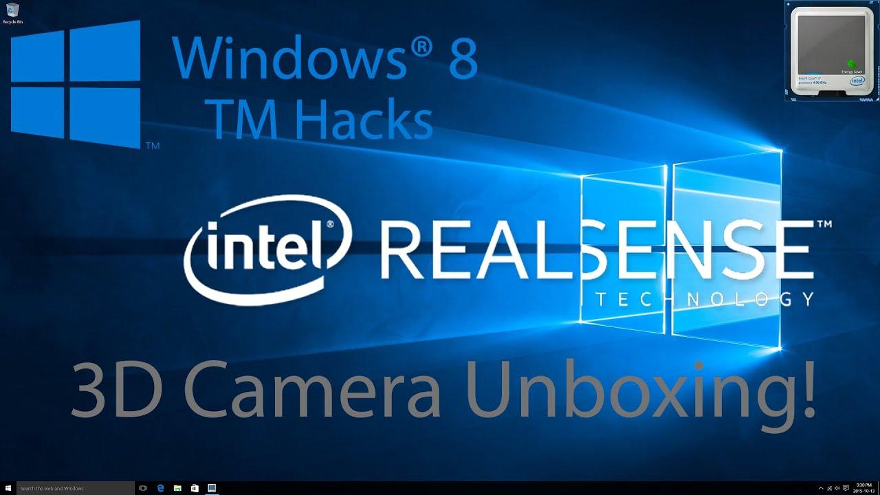 Intel RealSense 3D Camera Unboxing