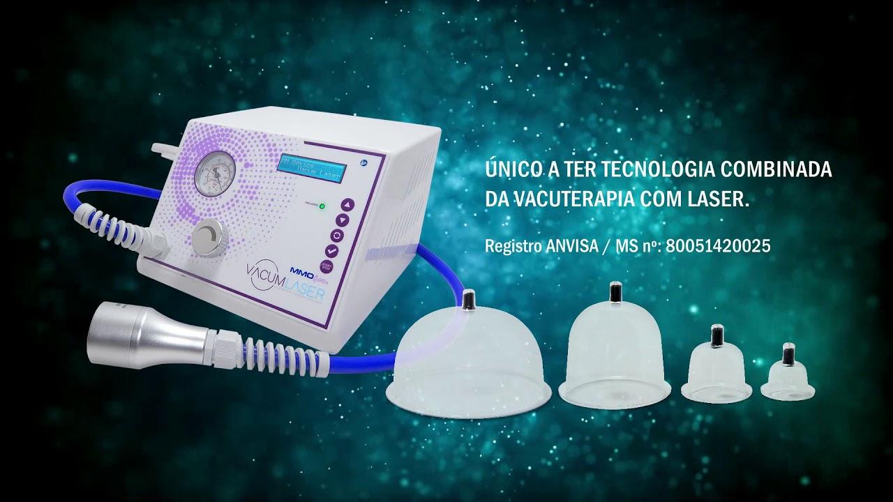vacum laser vacuoterapia combinada com laser mmo estética youtube
