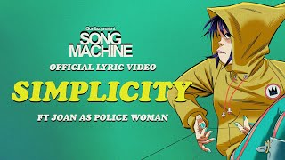 Gorillaz - Simplicity ft. Joan As Police Woman (Official Lyric Video)