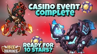 Idle Heroes - Casino Event - Groo Skin and Potential 10 Stars!