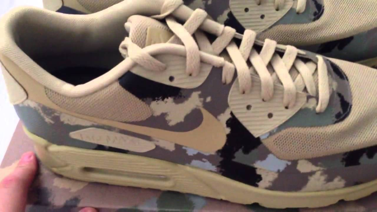 en soldes 5d213 4d28f Nike air max 90 HYP Italy camo pack hyperfuse sp shoe revie