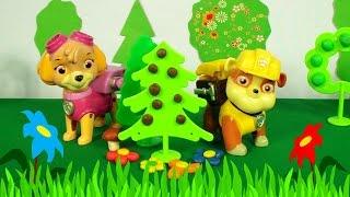 Видео с игрушками - Щенячий Патруль: Скай и Маршал заболели