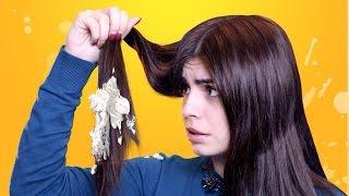 Детский крем на волосы