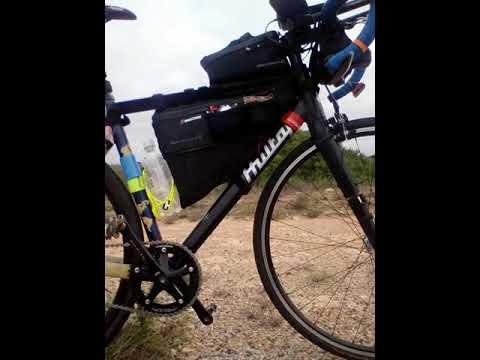 Paweł Puławski na Indian Pacific Wheel Ride 2018 Nullarbor 3