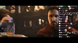 Forsen reacts to Twitch - Infinity War w/ chat