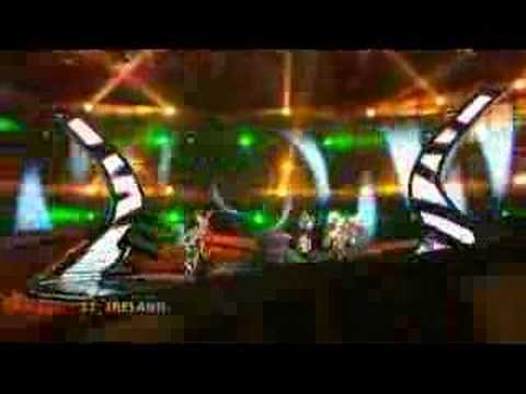 Ireland - Eurovision Song Contest Semi Final 2008 BBC Three