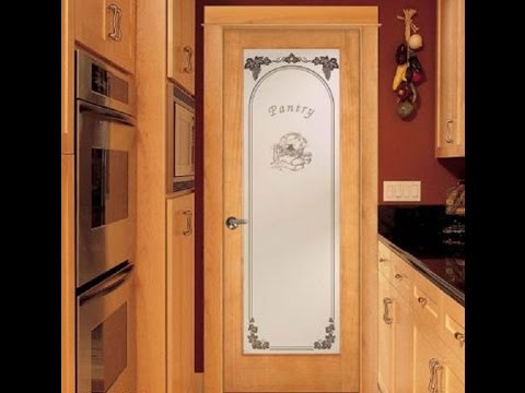 Furniture _ Marvelous Frosted Glass Pantry Door Ideas   Kitchenious