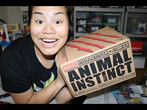 2018 February Marvel Collector Corps Unboxing - [Animal Instinct]