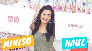 Cutest Miniso Haul- Everything under Rs. 600 | Dhwani Bhatt