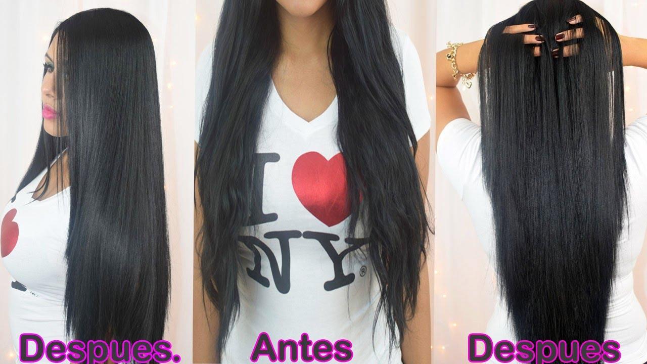 Latina de pelo largo - 3 part 1
