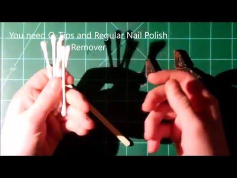 How to unglue Super Glue