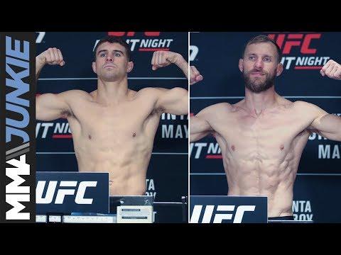 UFC Ottawa: Headliners Al Iaquinta, Donald 'Cowboy' Cerrone make weight