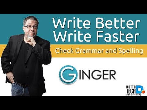 Ginger Keyboard - For Spelling, Grammar And Speed!