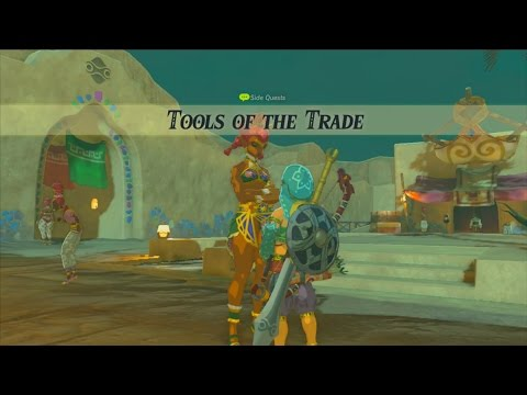 The Legend of Zelda: Breath of the Wild (Wii U) - Side Quest - Tools of The Trade