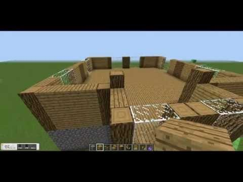 Minecraft Construction Handbook Wooden House Tutorial Youtube