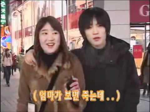 Jaejoong´s ~Pre-Debut~ Street Interview with Ex-Girlfriend?  Cut