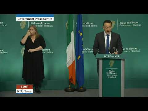Taoiseach Outlines New Measures To Tackle Covid-19